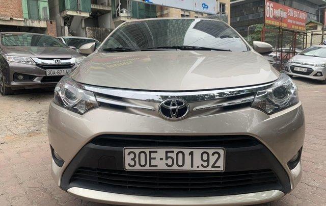 Bán Toyota Vios bản G số tự động sản xuất 2017 siêu lướt0