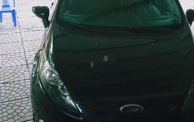 Cần bán xe Ford Fiesta 2011, màu đen xe gia đình0