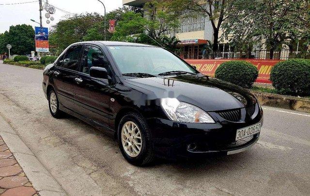 Bán Mitsubishi Lancer sản xuất 2005, màu đen còn mới2