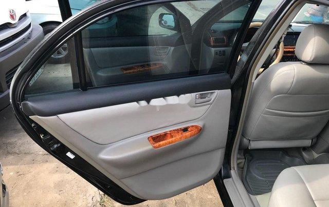 Bán xe Toyota Corolla Altis 2003, màu đen, giá 228tr11