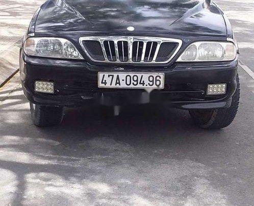 Bán xe Ssangyong Musso sản xuất 2002, màu đen, nhập khẩu, giá chỉ 75 triệu0