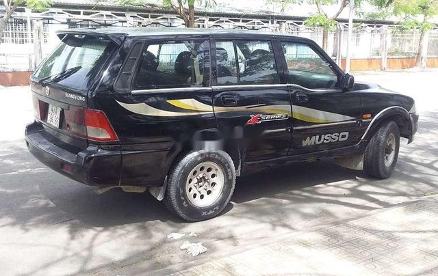 Bán xe Ssangyong Musso sản xuất 2002, màu đen, nhập khẩu, giá chỉ 75 triệu1