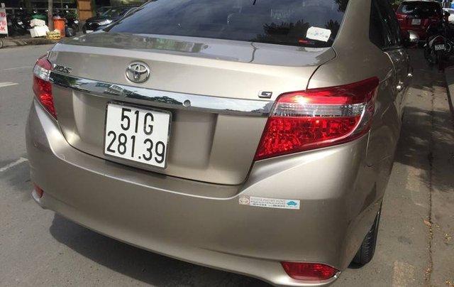 Bán Toyota Vios sản xuất năm 2017 còn mới2
