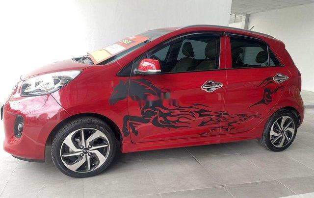 Cần bán lại xe Kia Morning năm 2019, màu đỏ còn mới, 360tr3