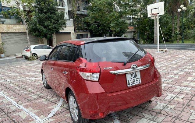 Cần bán Toyota Yaris sản xuất 2014, màu đỏ, nhập khẩu, giá tốt2