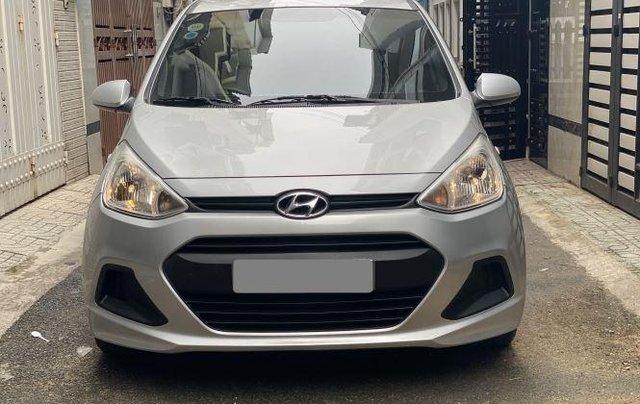 Bán ô tô Hyundai Grand i10 năm 2018, màu bạc còn mới, giá tốt8