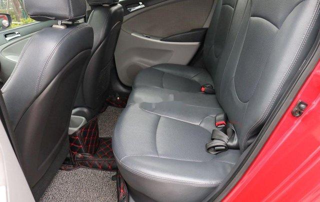 Bán Hyundai Accent 2013, màu đỏ, nhập khẩu11