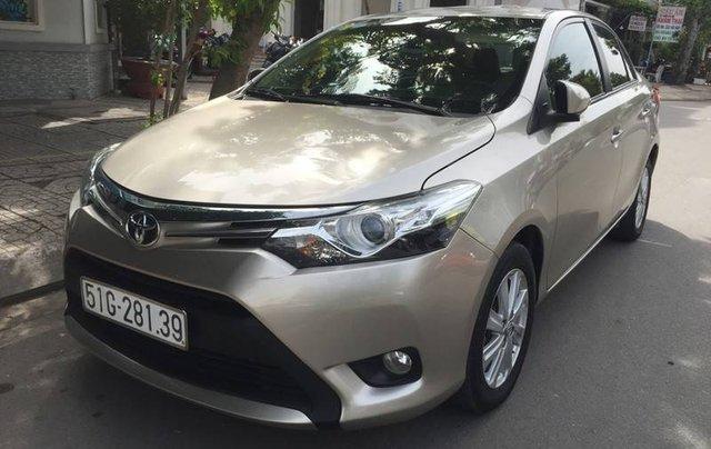 Bán Toyota Vios sản xuất năm 2017 còn mới0