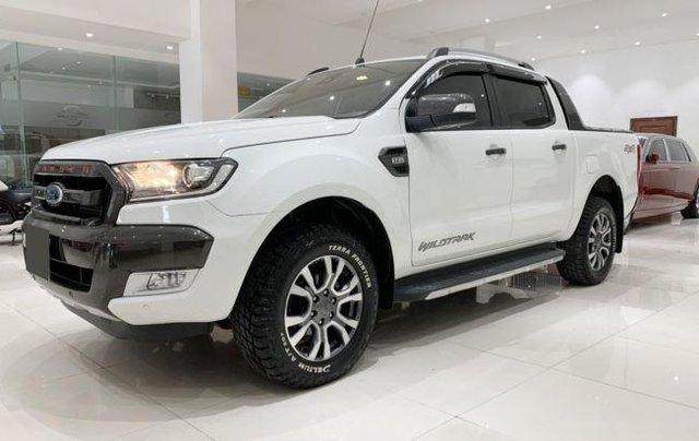 Bán Ford Ranger sản xuất 2017, màu trắng còn mới, 755 triệu1