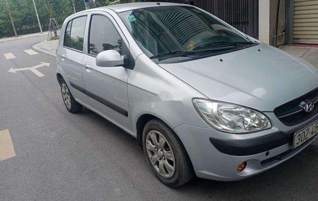 Xe Hyundai Getz sản xuất 2010, màu bạc, nhập khẩu còn mới0