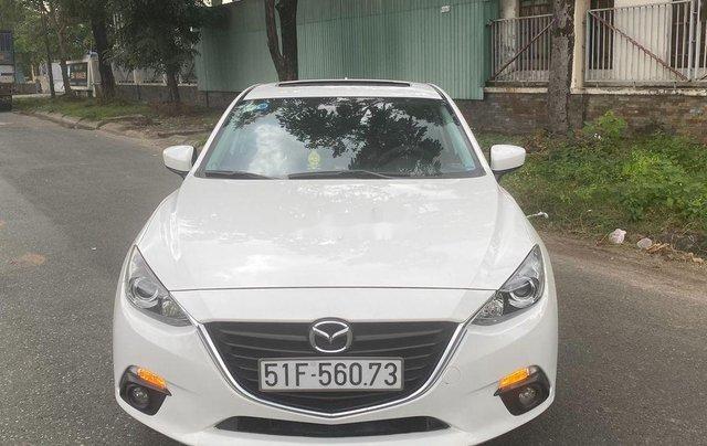 Cần bán lại xe Mazda 3 2015, màu trắng còn mới, 475 triệu0