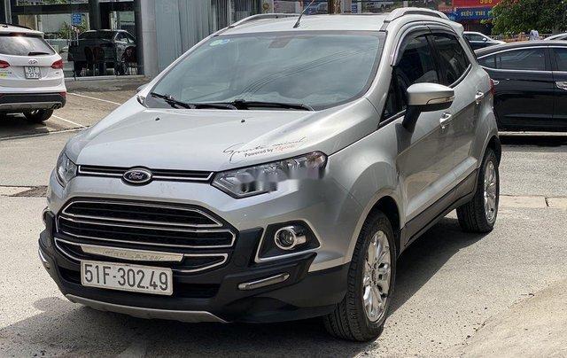 Cần bán gấp Ford EcoSport 2015, màu bạc chính chủ2