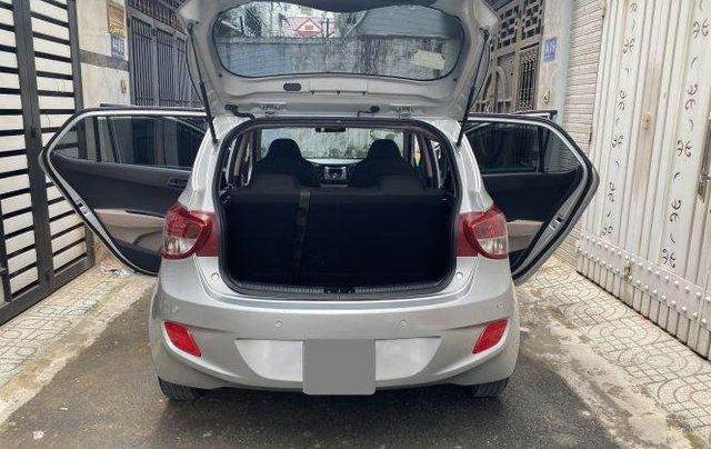 Bán ô tô Hyundai Grand i10 năm 2018, màu bạc còn mới, giá tốt3