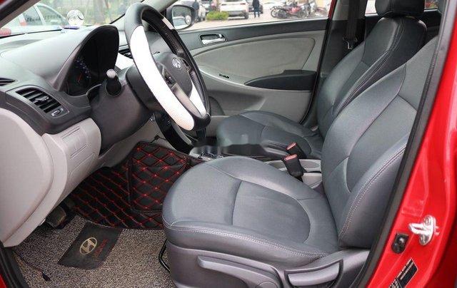 Bán Hyundai Accent 2013, màu đỏ, nhập khẩu9