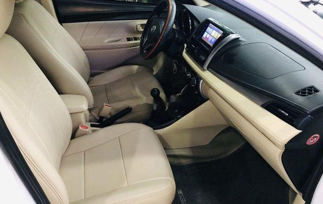 Bán ô tô Toyota Vios sản xuất năm 2017, màu trắng, giá chỉ 385 triệu4