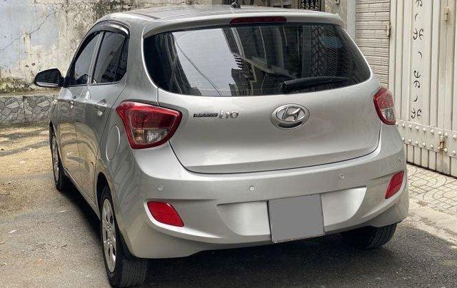 Bán ô tô Hyundai Grand i10 năm 2018, màu bạc còn mới, giá tốt9