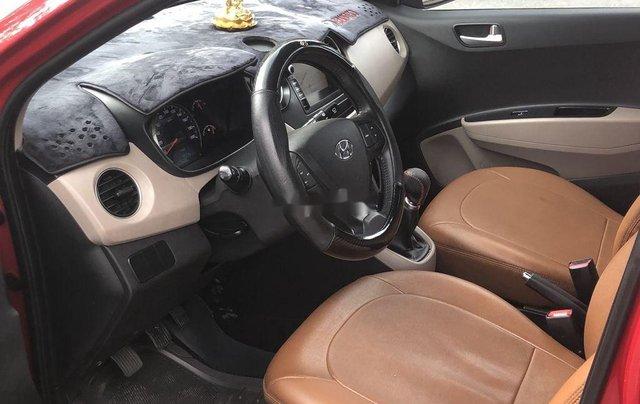Cần bán gấp Hyundai Grand i10 sản xuất 2017, màu đỏ còn mới7