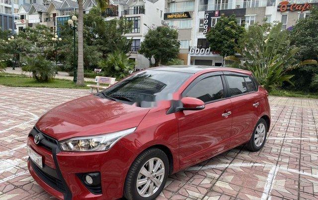 Cần bán Toyota Yaris sản xuất 2014, màu đỏ, nhập khẩu, giá tốt1