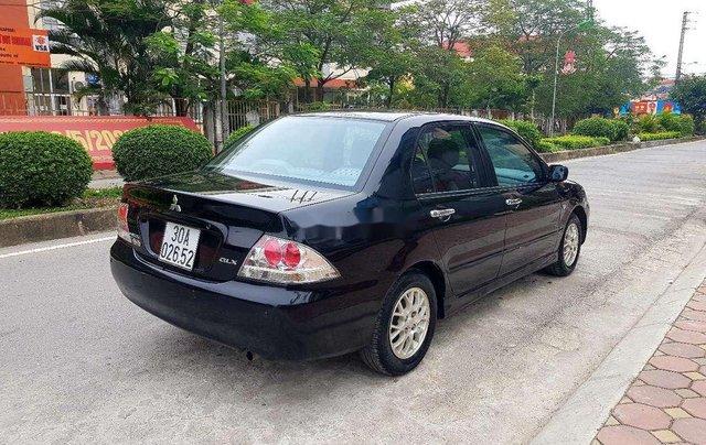 Bán Mitsubishi Lancer sản xuất 2005, màu đen còn mới5