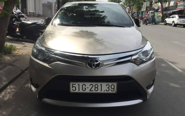 Bán Toyota Vios sản xuất năm 2017 còn mới1