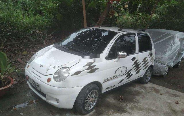 Cần bán gấp Daewoo Matiz đời 2003, màu trắng, nhập khẩu còn mới, giá chỉ 62 triệu1