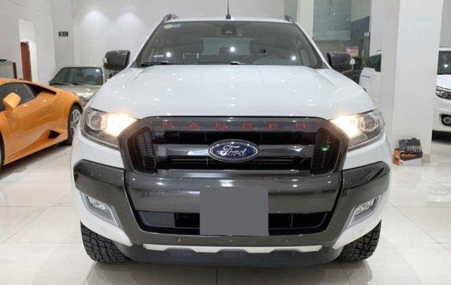 Bán Ford Ranger sản xuất 2017, màu trắng còn mới, 755 triệu0