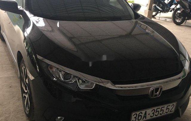 Bán Honda Civic sản xuất năm 2018, màu đen, xe nhập chính chủ