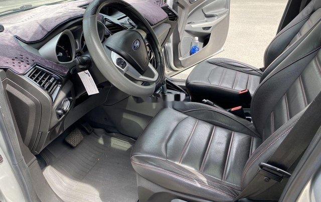 Cần bán gấp Ford EcoSport 2015, màu bạc chính chủ8
