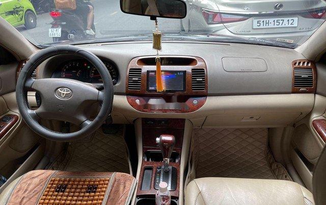 Bán Toyota Camry năm sản xuất 2003, màu đen7