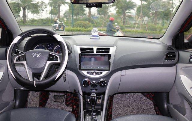 Bán Hyundai Accent 2013, màu đỏ, nhập khẩu4