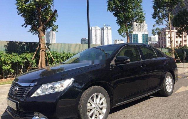 Cần bán xe Toyota Camry 2014, màu đen chính chủ, 668 triệu2