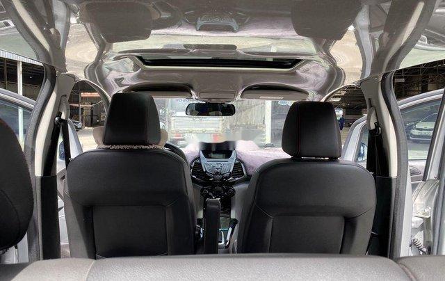 Cần bán gấp Ford EcoSport 2015, màu bạc chính chủ10