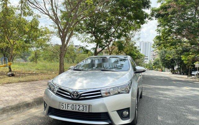 Xe Toyota Corolla Altis đời 2015, màu bạc còn mới, giá 536tr0