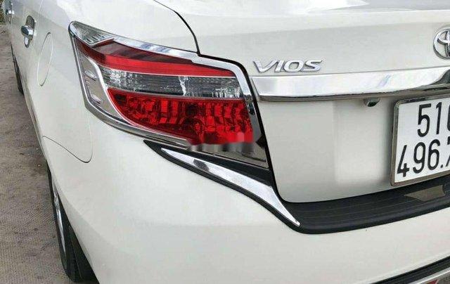 Cần bán xe Toyota Vios đời 2017, màu trắng chính chủ1