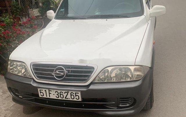 Bán ô tô Ssangyong Musso 2001, màu trắng, nhập khẩu1