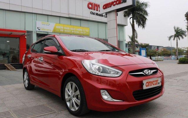 Bán Hyundai Accent 2013, màu đỏ, nhập khẩu0