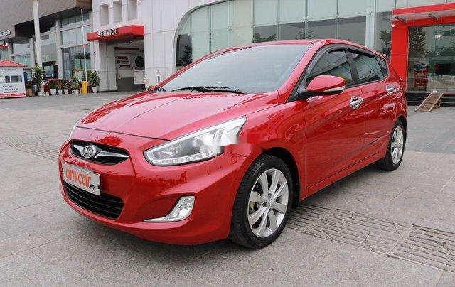 Bán Hyundai Accent 2013, màu đỏ, nhập khẩu1