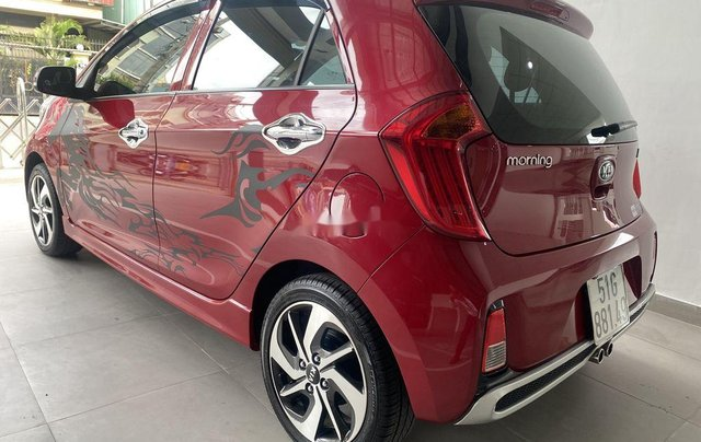 Cần bán lại xe Kia Morning năm 2019, màu đỏ còn mới, 360tr0