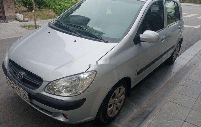 Xe Hyundai Getz sản xuất 2010, màu bạc, nhập khẩu còn mới1