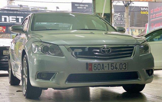 Bán ô tô Toyota Camry sản xuất 2009, màu bạc còn mới1