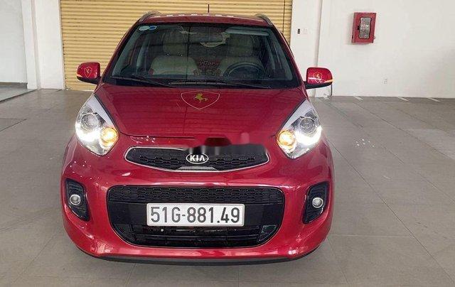 Cần bán lại xe Kia Morning năm 2019, màu đỏ còn mới, 360tr2