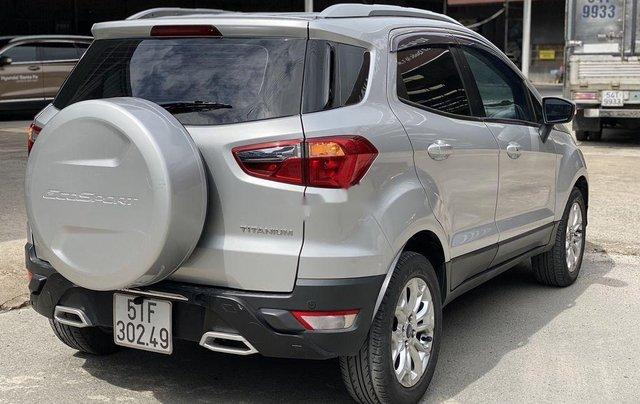 Cần bán gấp Ford EcoSport 2015, màu bạc chính chủ3