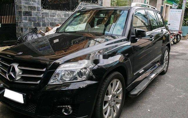 Cần bán xe Mercedes GLK 300 đời 2009, màu đen, nhập khẩu 0