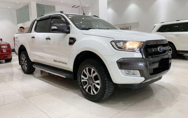 Bán Ford Ranger sản xuất 2017, màu trắng còn mới, 755 triệu2