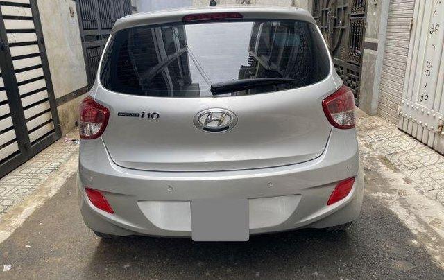 Bán ô tô Hyundai Grand i10 năm 2018, màu bạc còn mới, giá tốt10