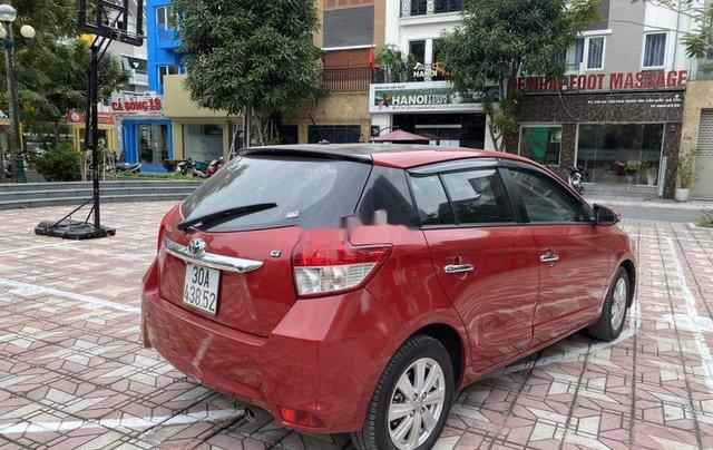Cần bán Toyota Yaris sản xuất 2014, màu đỏ, nhập khẩu, giá tốt3