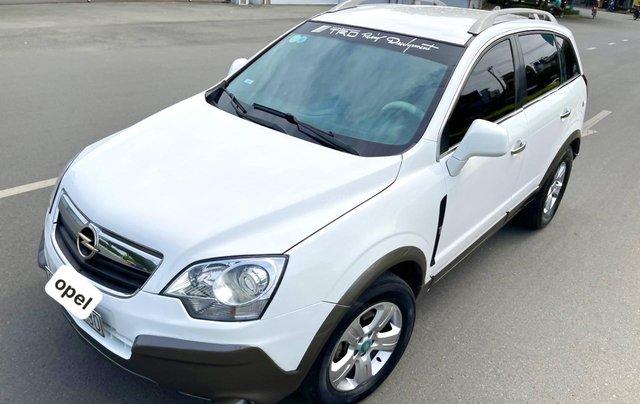 Opel Antara nhập Đức 2008 hai cầu số sàn, full đủ đồ chơi không thiếu món nào0