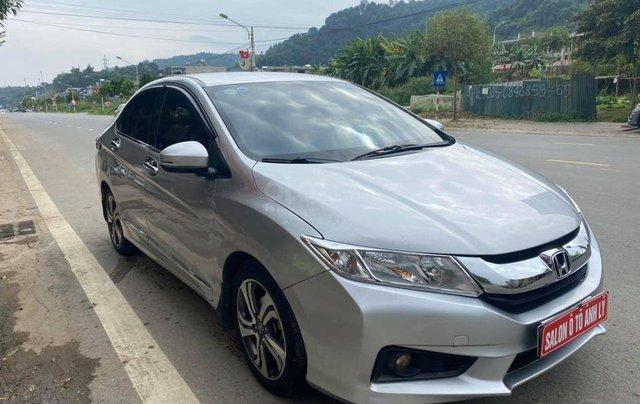 Cần bán xe Honda City đời 2016, màu bạc, số tự động2