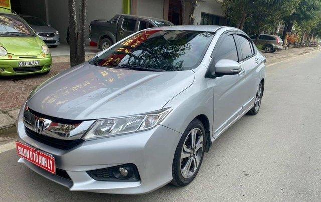 Cần bán xe Honda City đời 2016, màu bạc, số tự động1