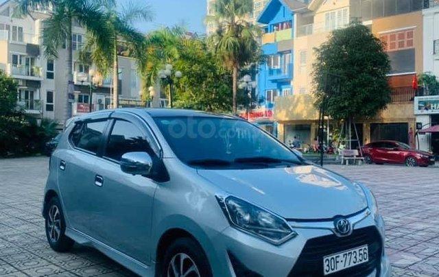 Cần bán xe Toyota Wigo đời 2019, màu bạc1